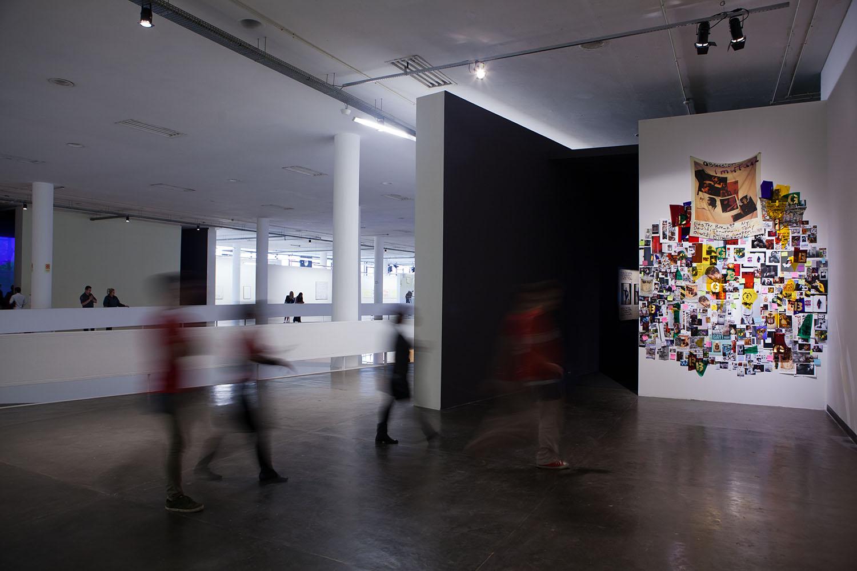 Instalação de Lyle Ashton Harris na 32a Bienal de São Paulo. 06/09/2016 © Pedro Ivo Trasferetti / Fundação Bienal de São Paulo
