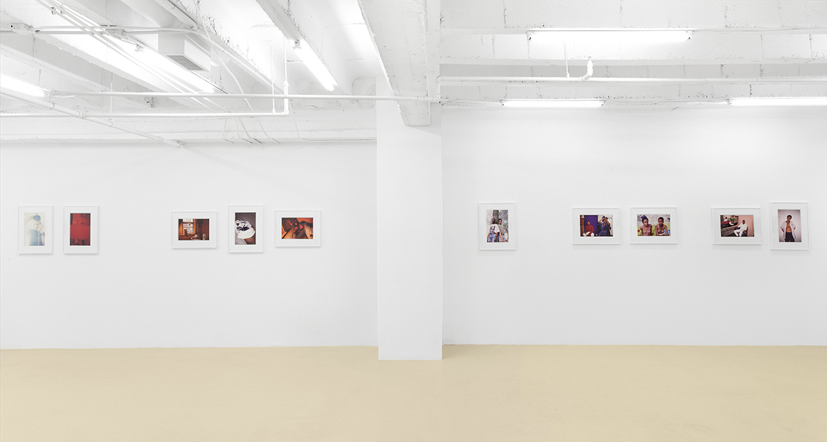 Installation view, David Castillo Gallery, 2015