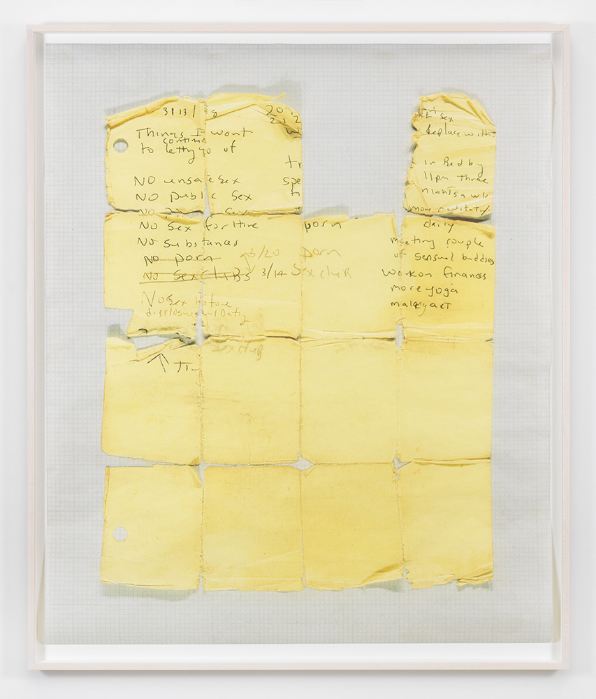 Untitled (Yellow Grid), 2014