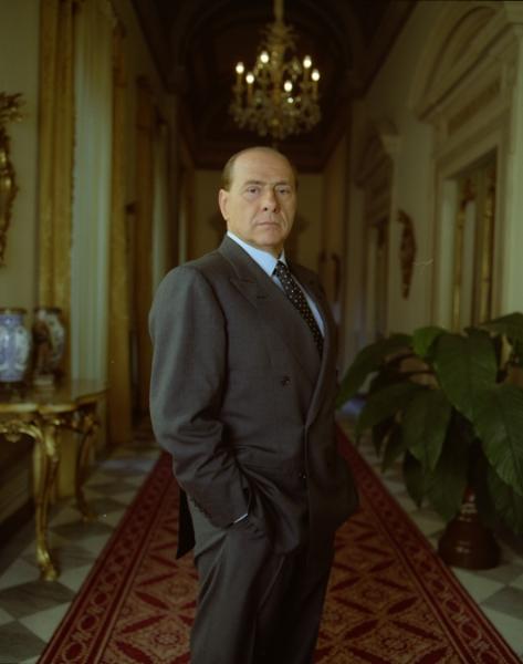 Silvio Berlusconi, politician For The New York Times Magazine, 15 Apr. 2001
