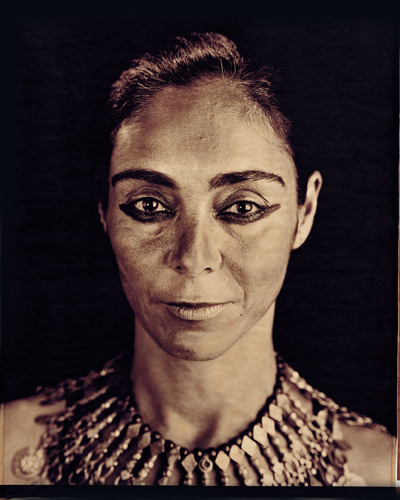 Untitled (Face #176 Shirin), 2006