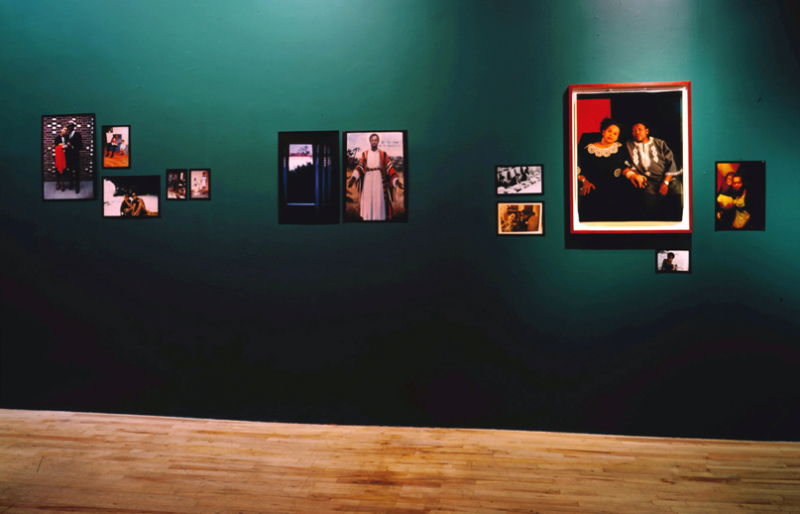 """The Good Life"" Exhibition (Installation view, Jack Tilton Gallery, 1994)"